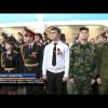 Новоуренгойские кадеты воссоздали копию Знамя Победы.