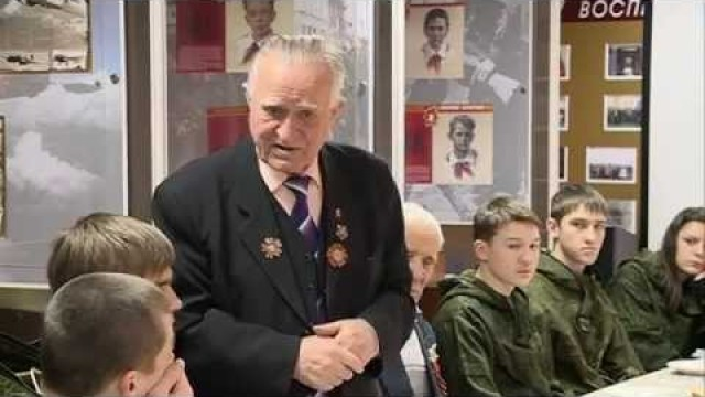 Воспитанники ВПК «Арсенал» встретились светеранами Великой Отечественной Войны.