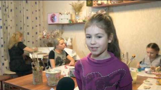 Татьяна Гаранова дала мастер-класс поизготовлению символа 2015года.