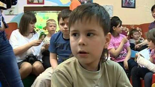 Сотрудники полиции рассказали детям оздоровом образе жизни.