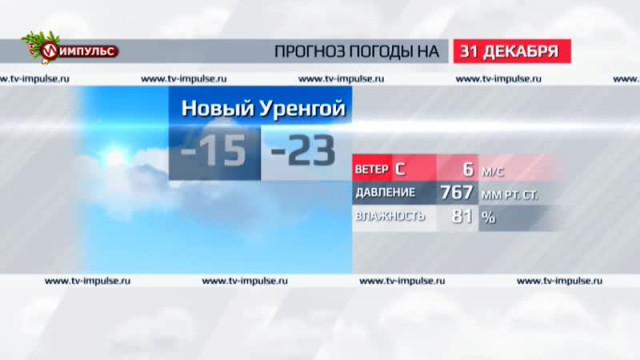Служба новостей. Выпуск от30декабря 2015г.
