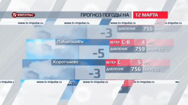 Служба новостей. Выпуск от11марта 2016г.