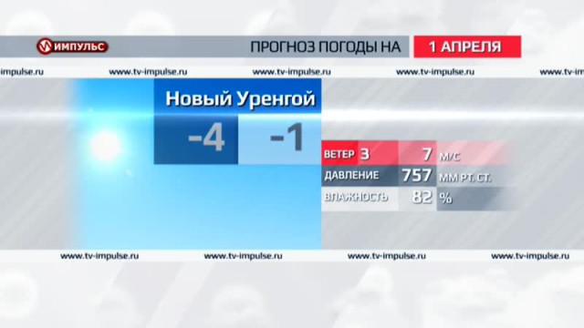 Служба новостей. Выпуск от31марта 2016г.