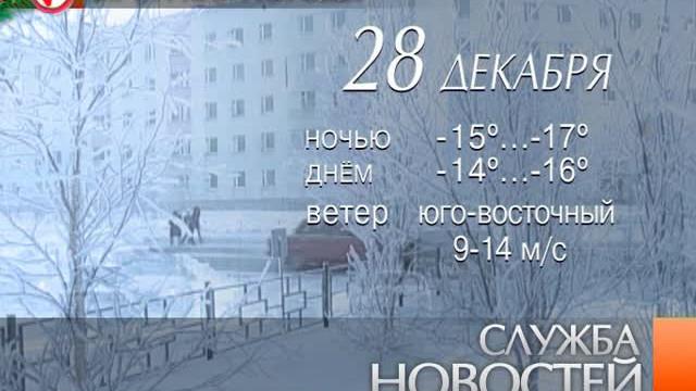 Служба новостей. Выпуск от27декабря 2012г.