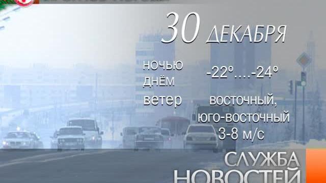 Служба новостей. Выпуск от29декабря 2012г.
