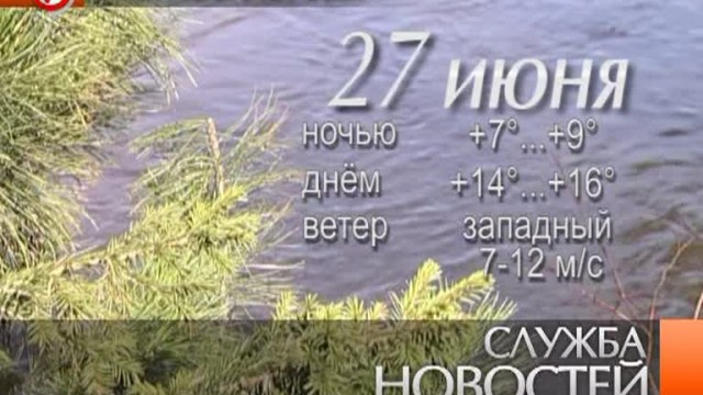 Служба новостей. Выпуск от26июня 2013г.