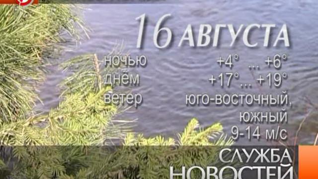 Служба новостей. Выпуск от15августа 2013г.