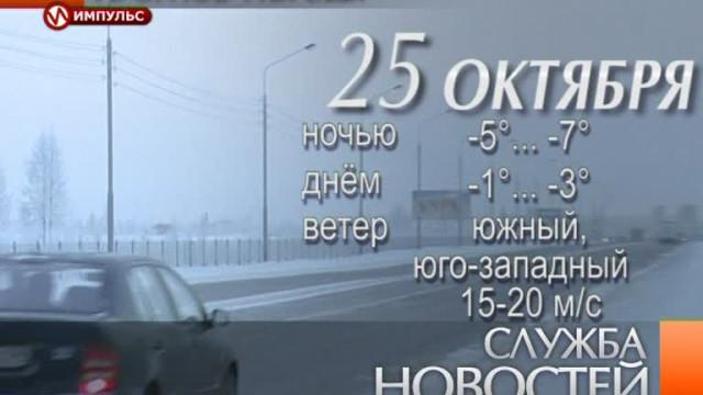 Служба новостей. Выпуск от24октября 2013г.