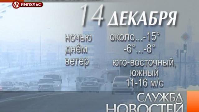 Служба новостей. Выпуск от13декабря 2013г.