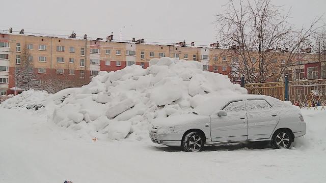Зимнее содержание улично-дорожной сети несоответствует ГОСТу