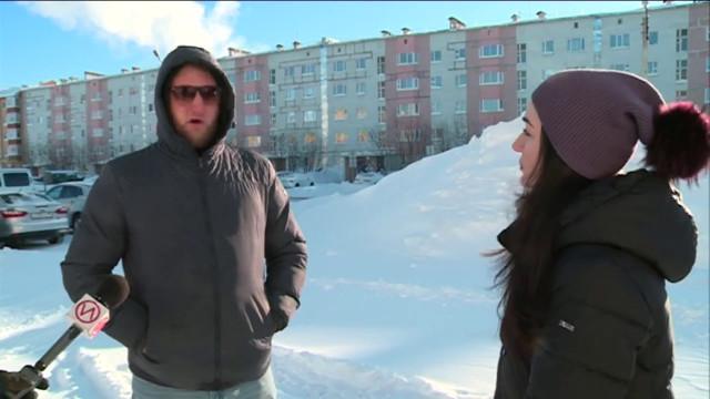 Городская администрация напоминает арендаторам о необходимости убирать снежные завалы