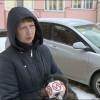 Пьяный мужчина разбил чужой автомобиль искрылся сместа преступления.