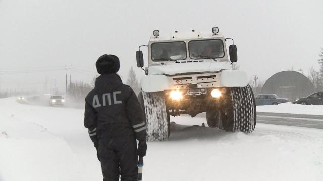 Сотрудники Гостехнадзора совместно с госавтоинспекторами провели операцию «Снегоход»