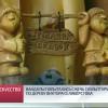 Вандалы попытались сжечь скульптуру резчика подереву Виктора Селивёрстова.