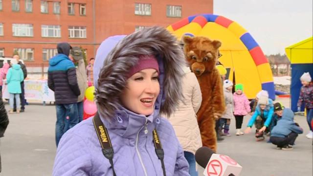 Жители района Коротчаево отметили День соседей