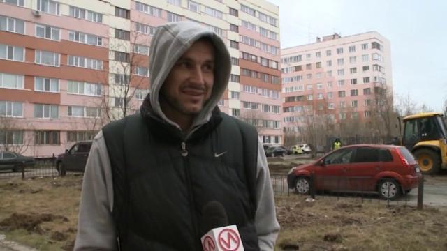 Во дворе домов по проспекту Ленинградский и улицы Интернациональная началось благоустройство