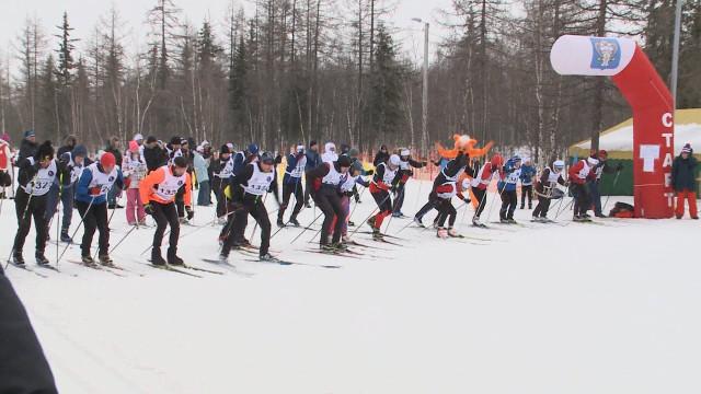 В«Ямальской лыжне— 2021» приняли участие около трёхсот новоуренгойцев