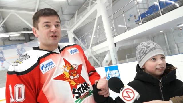 Игроки команды «STAR перцы» провели открытую тренировку сюными новоуренгойцами.