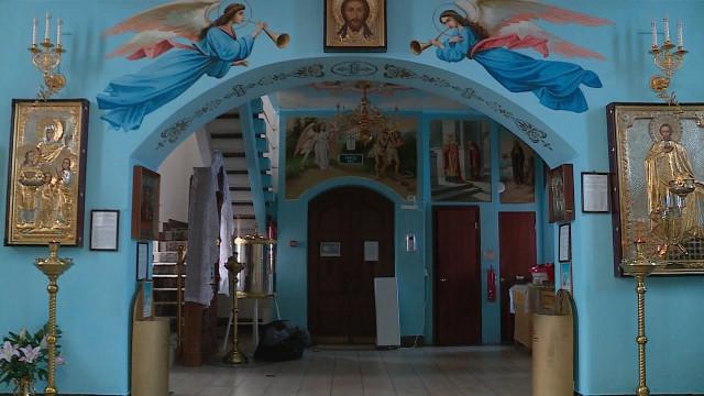 Завершена роспись храма Благовещения пресвятой Богородицы врайоне Коротчаево