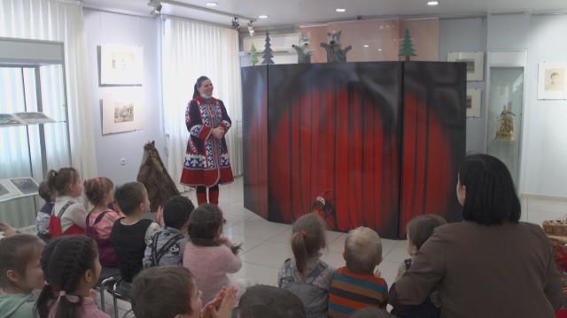 Воспитанники детского сада «Виниклюзия» побывали вгостях угородского музея