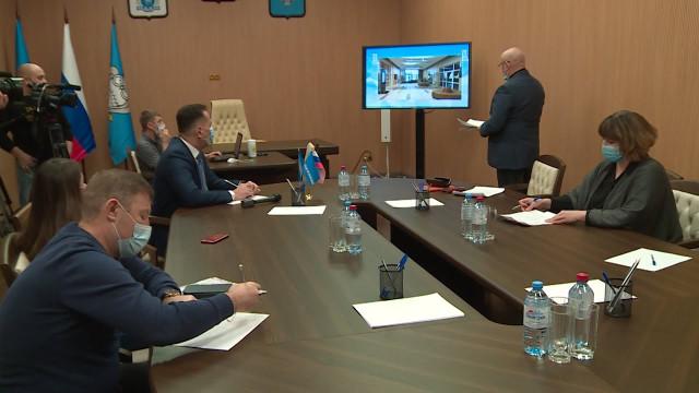 Глава города обсудил перспективы работы дворца спорта «Звёздный» ссотрудниками спортучреждения