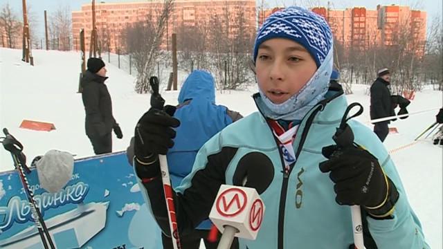 Больше 130 лыжников приняли участие воткрытом Первенстве ДЮСШ «Контакт».