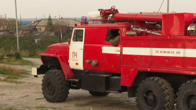 Впосёлке Тазовском накануне одновременно произошли сразу два пожара