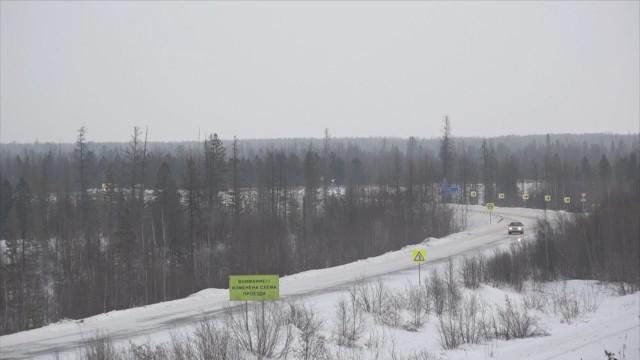 ВНадыме завершилось строительство участка дороги «Сургут— Салехард»