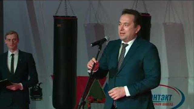 В Новом Уренгое состоялось открытие зала единоборств