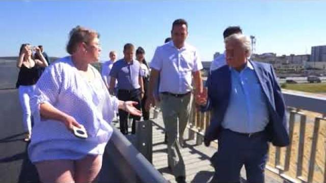Глава города Иван Костогриз посетил строящиеся объекты Нового Уренгоя.
