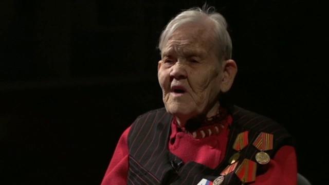 Елизавета Александровна Скоробогатова отметила 90-летний юбилей.