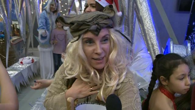 Новоуренгойцы побывали вгостях унациональных Дедов Морозов.