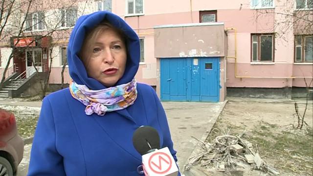 Жители одного издомов вмикрорайоне Мирный пострадали отремонта соседей.