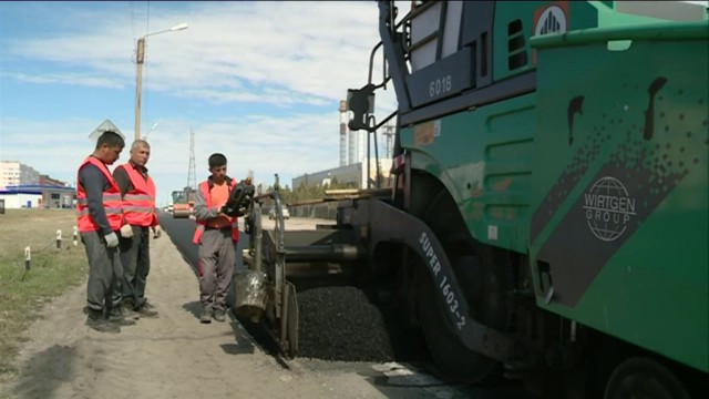 ВНовом Уренгое возобновлена сезонная работа асфальтобетонного завода.