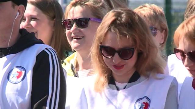 ВНовом Уренгое состоялся легкоатлетический марафон, посвящённый Дню борьбы снаркоманией.