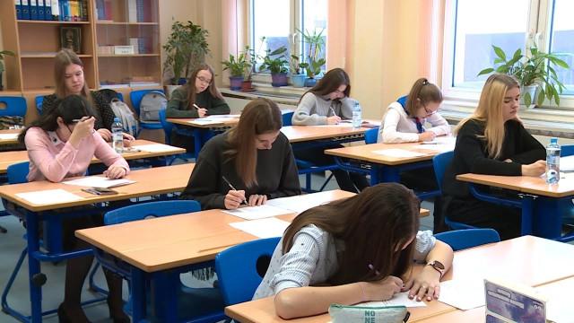 Новоуренгойские школьники принимают участие вмуниципальном этапе всероссийской олимпиады порусскому языку