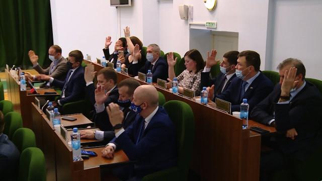 Депутаты городской думы вернулись к очному формату проведению заседаний