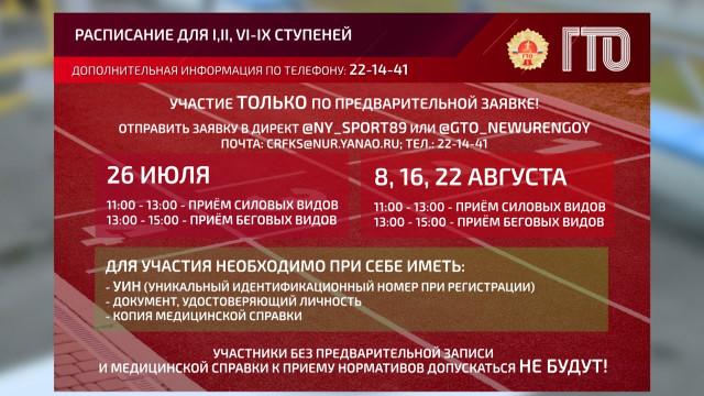 Вгазовой столице возобновили приём нормативов всероссийского физкультурно-спортивного комплекса ГТО