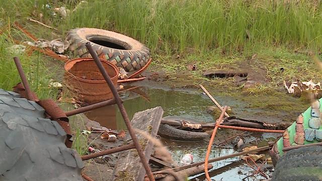 Количество несанкционированных свалок вНовом Уренгое выросло, специалисты несправляются