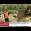 ВНовом Уренгое продолжается ремонт дорог.