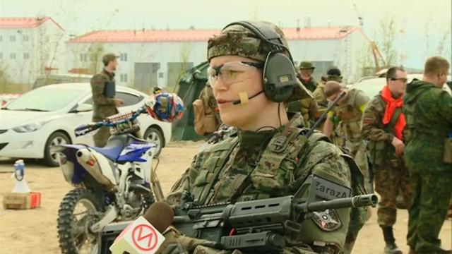 Региональная военно-патриотическая игра собрала любителей страйкабола совсего Ямала.