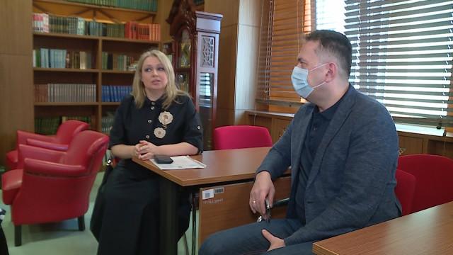 Глава города скомандой встретился сновым руководителем центра «Садко»