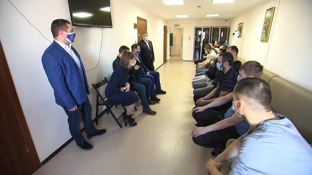 Пациенты реабилитационного центра «Ямал без наркотиков» встретились сдепутатами