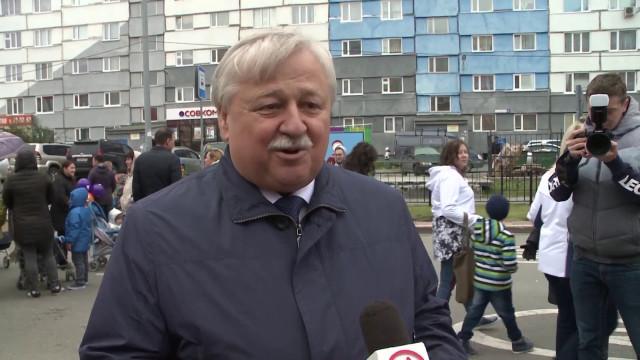 Новоуренгойцы отметили День города праздничными гуляниями