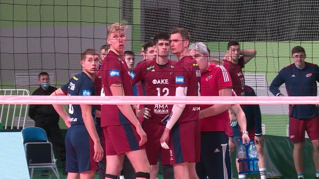 Волейболисты «Факела» прервали череду поражений вЧемпионате России