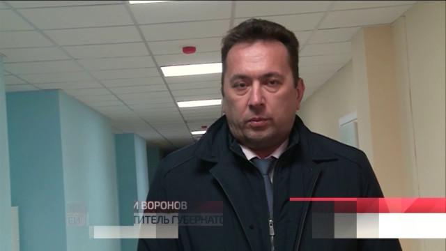 Заместитель губернатора ЯНАО Андрей Воронов побывал в строящемся учебно-профессиональном комплексе