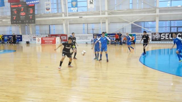ВНовом Уренгое завершились игры группового этапа зоны «Урал— Западная Сибирь» помини-футболу