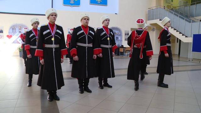 Новоуренгойские кадеты победили врегиональном этапе смотра-конкурса «Лучший казачий класс УРФО»