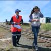 Работники железных дорог отмечают свой профессиональный праздник.