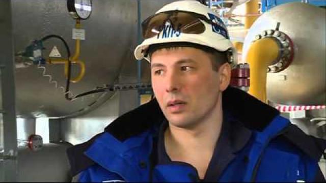 Участники газового форума познакомились сприродоохранными технологиями наодном изпромыслов ООО «Газпром добыча Уренгой».